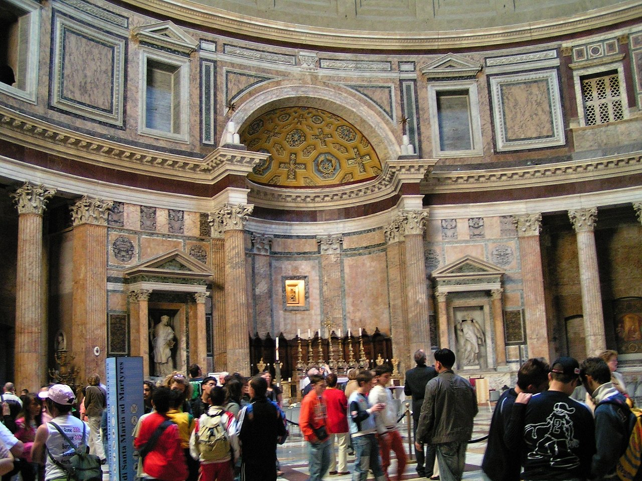 Pantheon, Rome Attractions, Best Places to visit in Rome 3