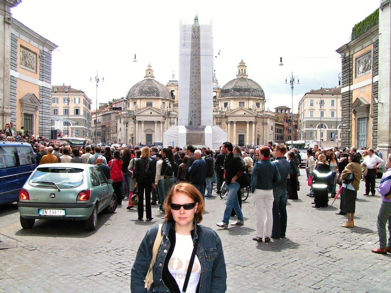 Piazza del Popolo, Rome attractions, Italy