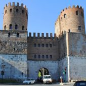 Porta San Sebastiano is the gate of the Appia in the Aurelian Walls, Rome Attractions, Best Places to visit in Rome