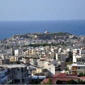 Rethymno on the island of Crete - Venetian fortress, Greece Travel