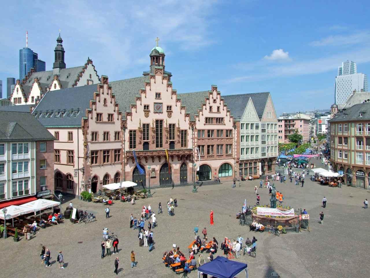 Römer, Frankfurt, Germany