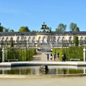 Sanssouci palace and the park, Potsdam, Germany