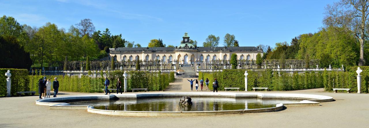 Sanssouci palace and the park, Potsdam, Germany