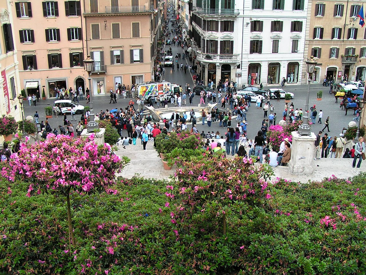 Spanish Steps, Piazza di Spagna, Rome Attractions, Best Places to visit in Rome