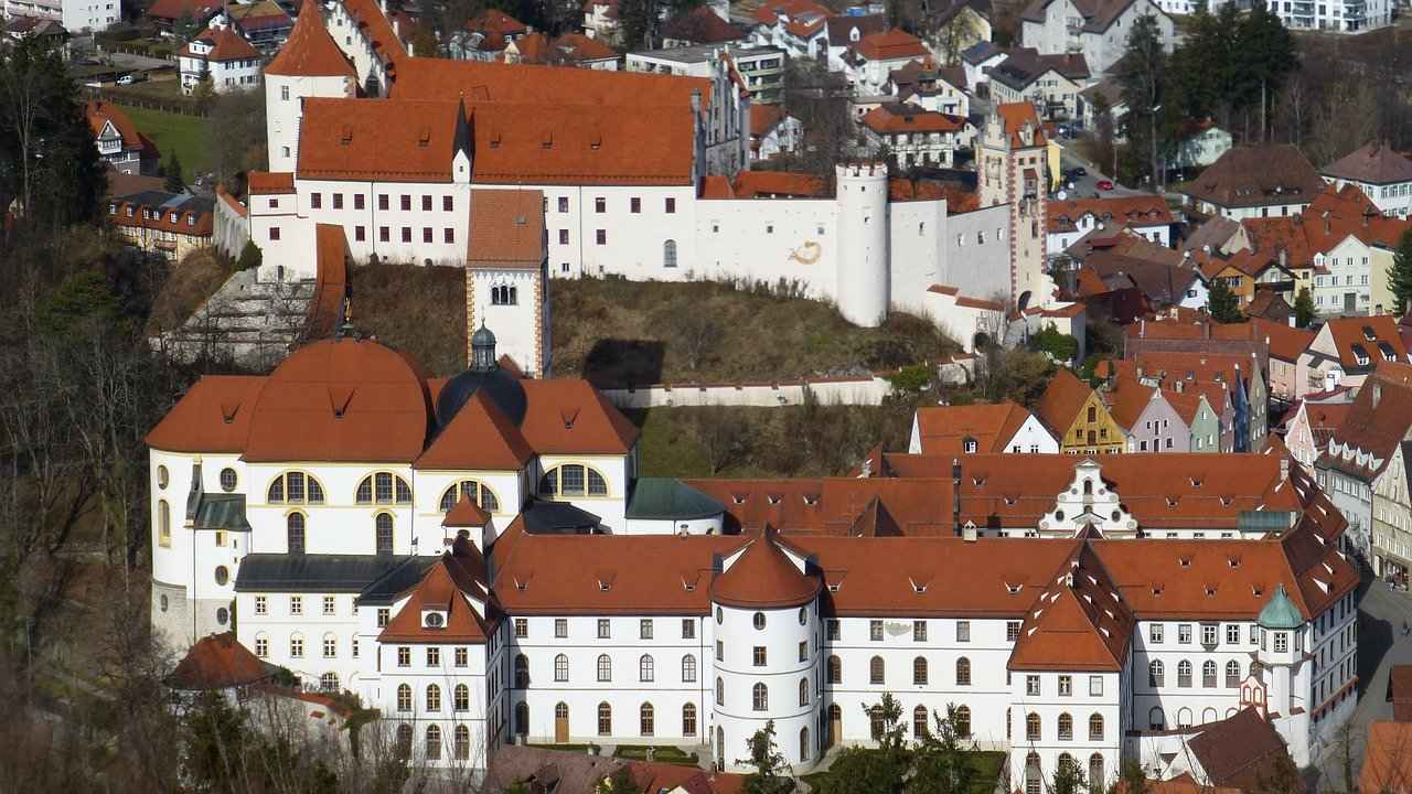 St. Mang's Abbey, Füssen, Germany