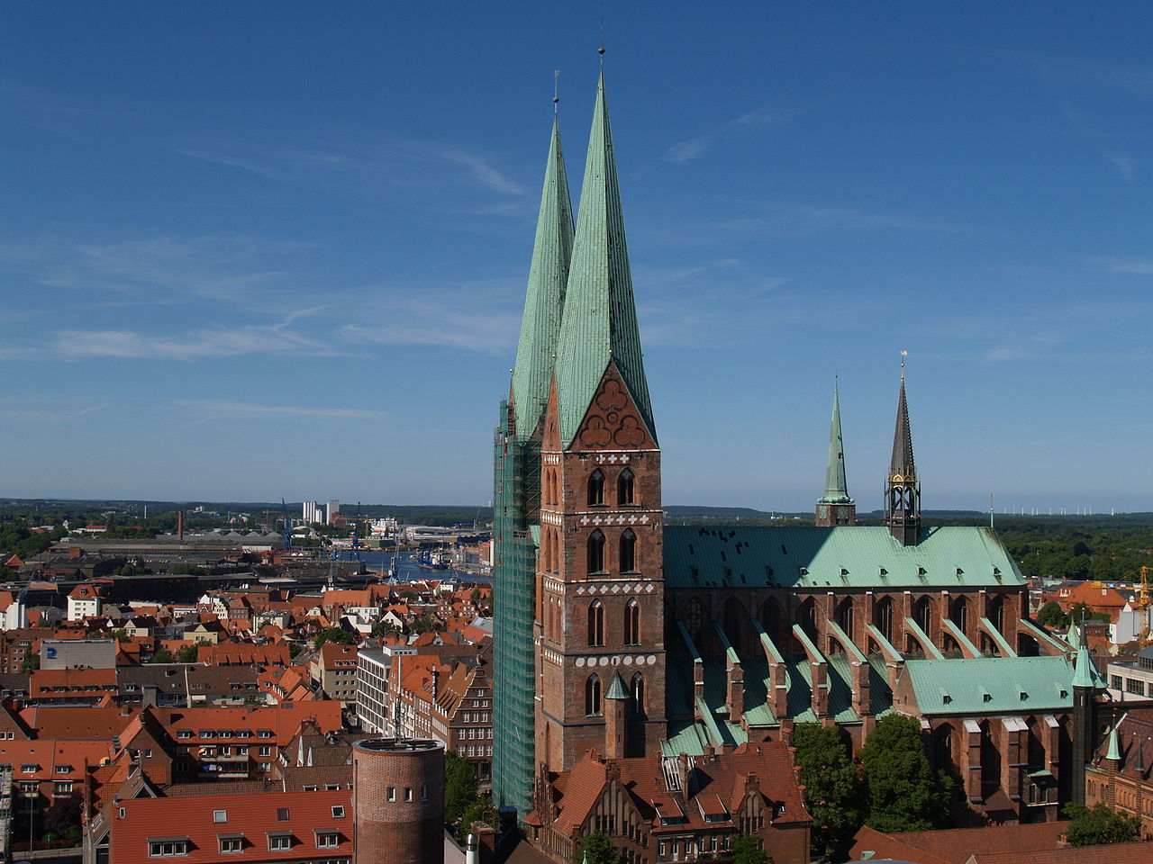St. Mary's Church, Lubeck, Germany