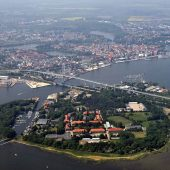 Strelasund Crossing, Stralsund, Germany