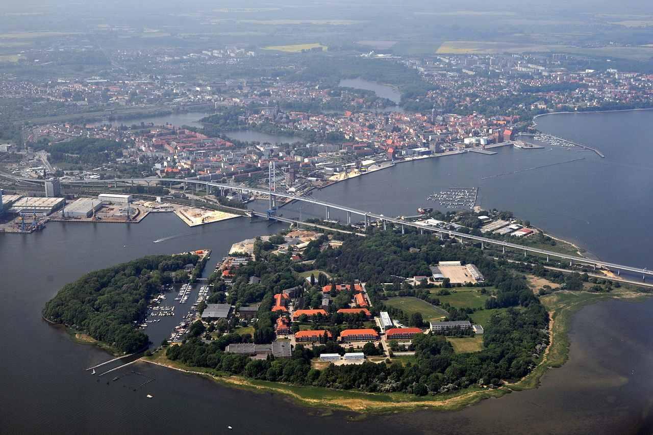 Strelasund Crossing, Stralsund, Germany