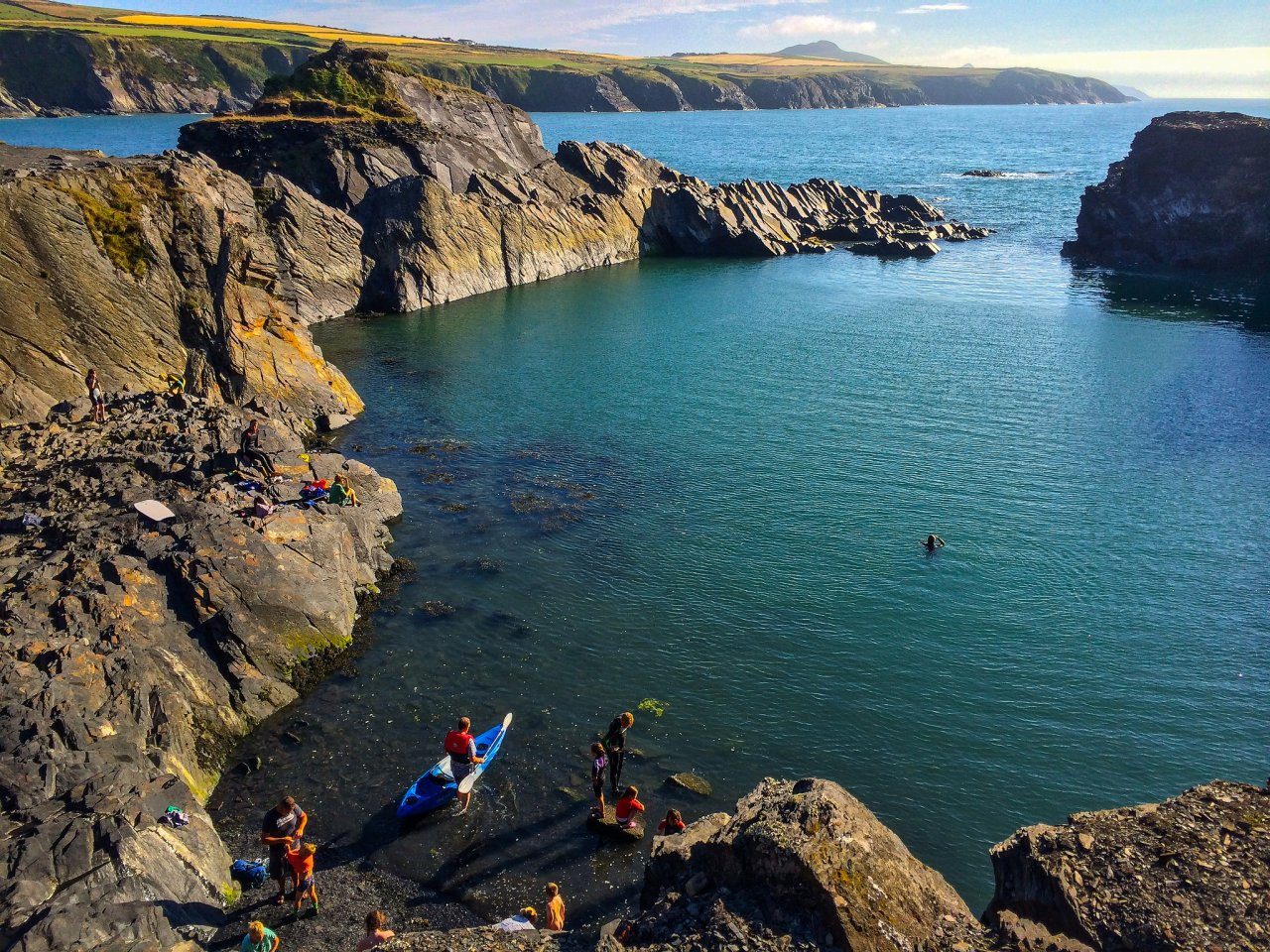The Blue Lagoon, Abereiddy, Pembrokeshire, Wales, Best places to visit in the UK