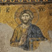 The most famous mosaic of Christ as Pantocrator, Haghia Sophia, Best places to visit in Turkey