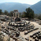Tholos of Delphi, Greece Travel