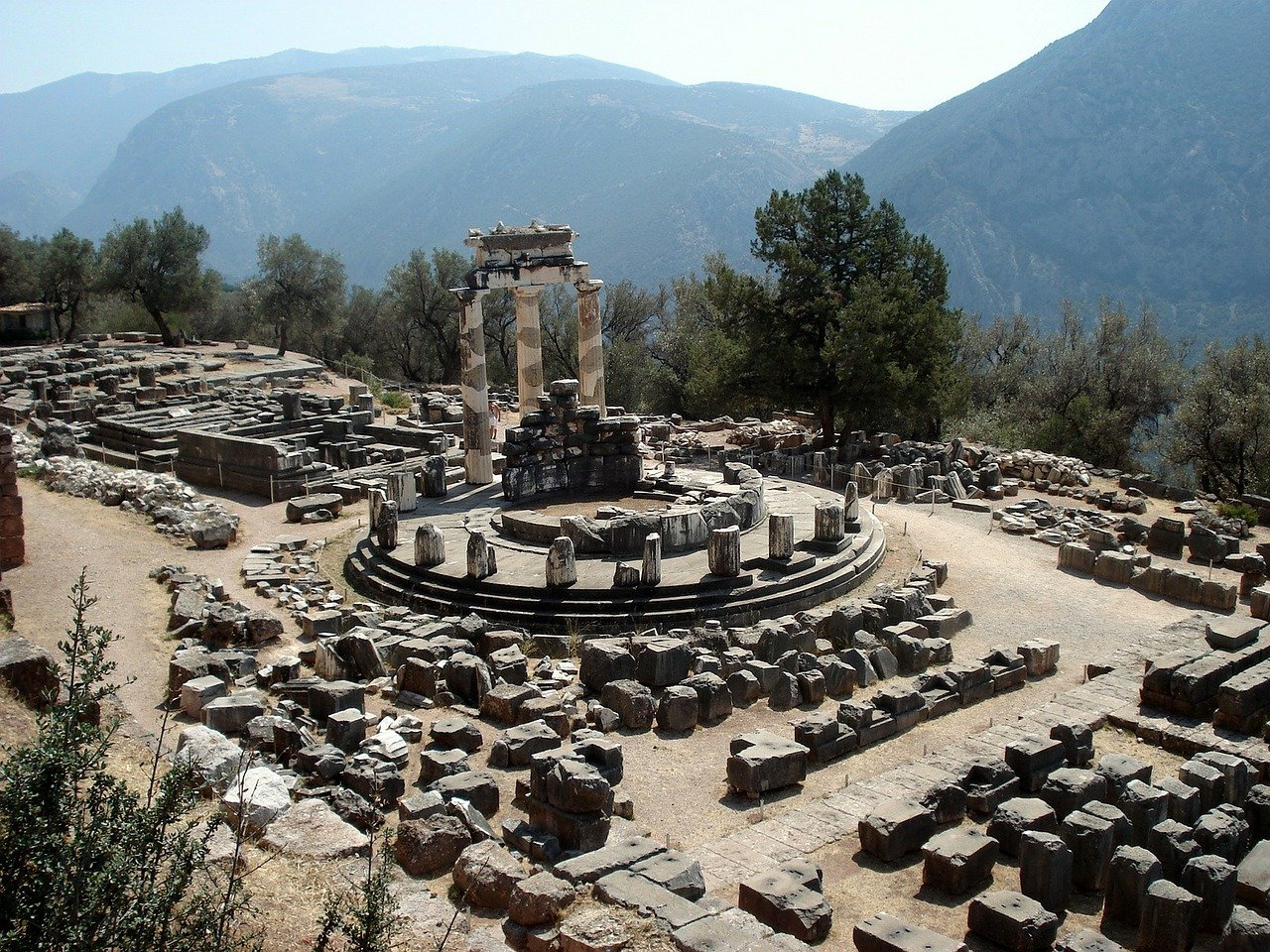 Tholos of Delphi, Greece Travel