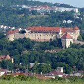 Tubingen castle, Cities in Germany
