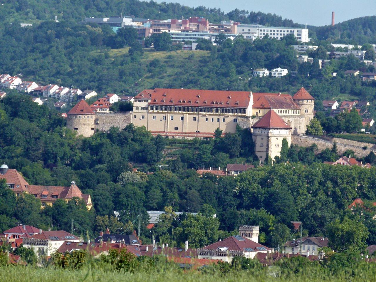 Tubingen castle, Cities in Germany