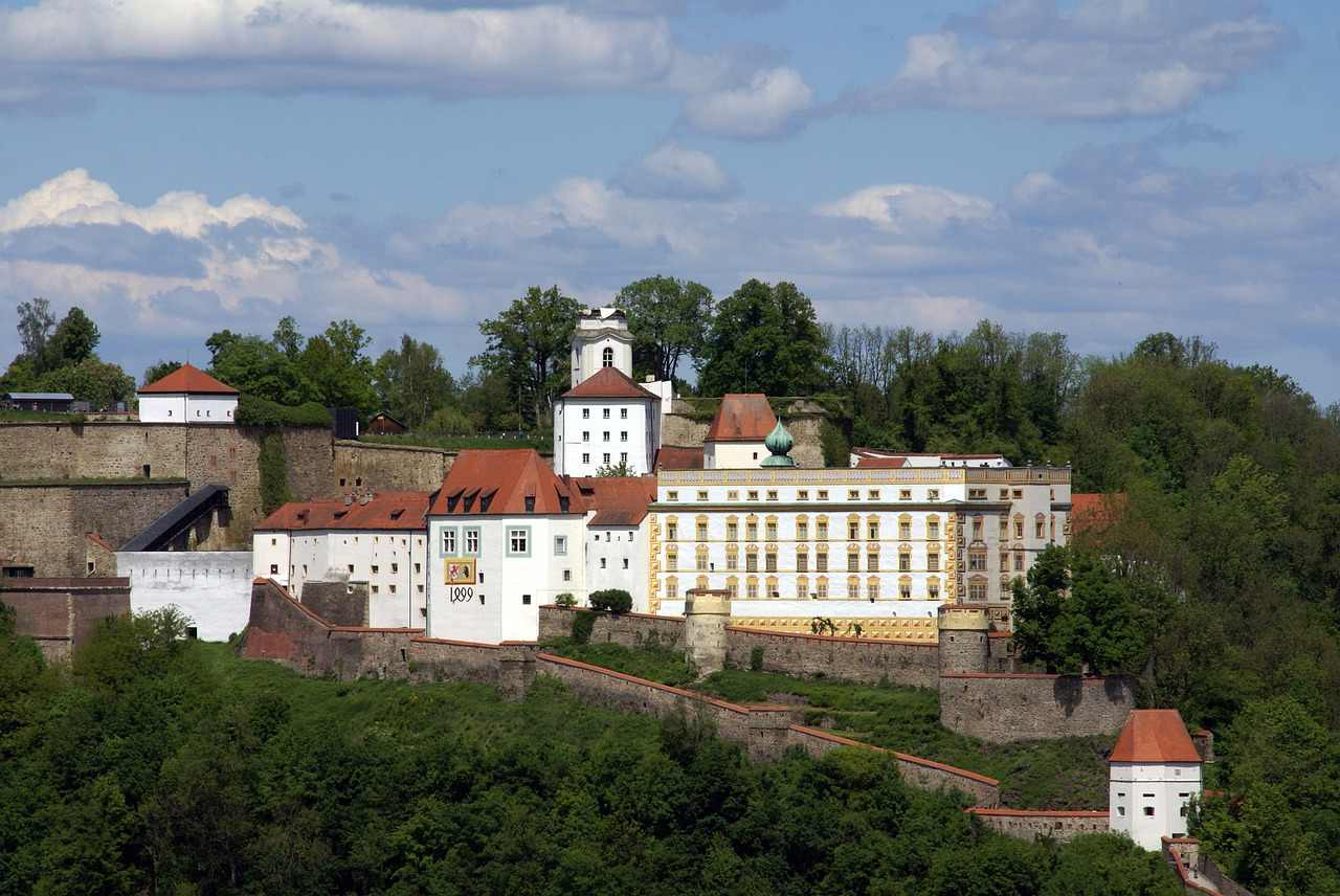 Veste Oberhaus fortress, Passau, Germany