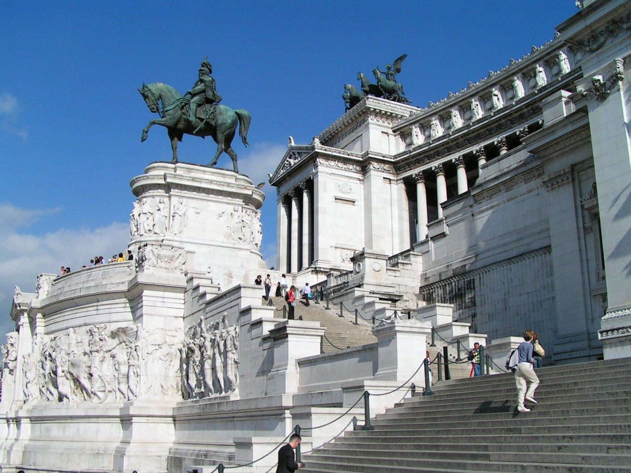 Victor Emmanuel II Monument, Altare della Patria, Rome attractions, Italy – 2