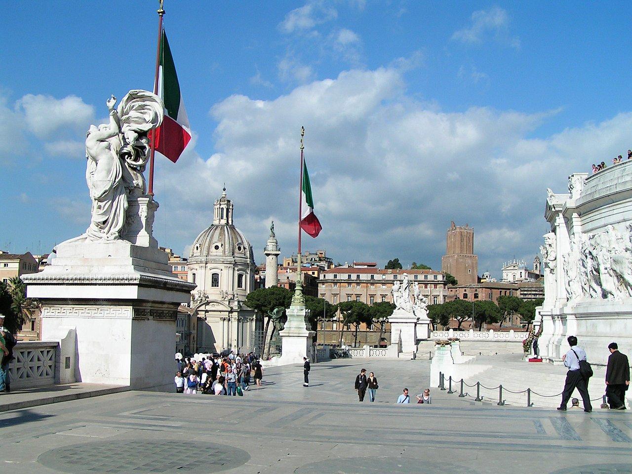 Victor Emmanuel II Monument, Altare della Patria, Rome attractions, Italy – 3