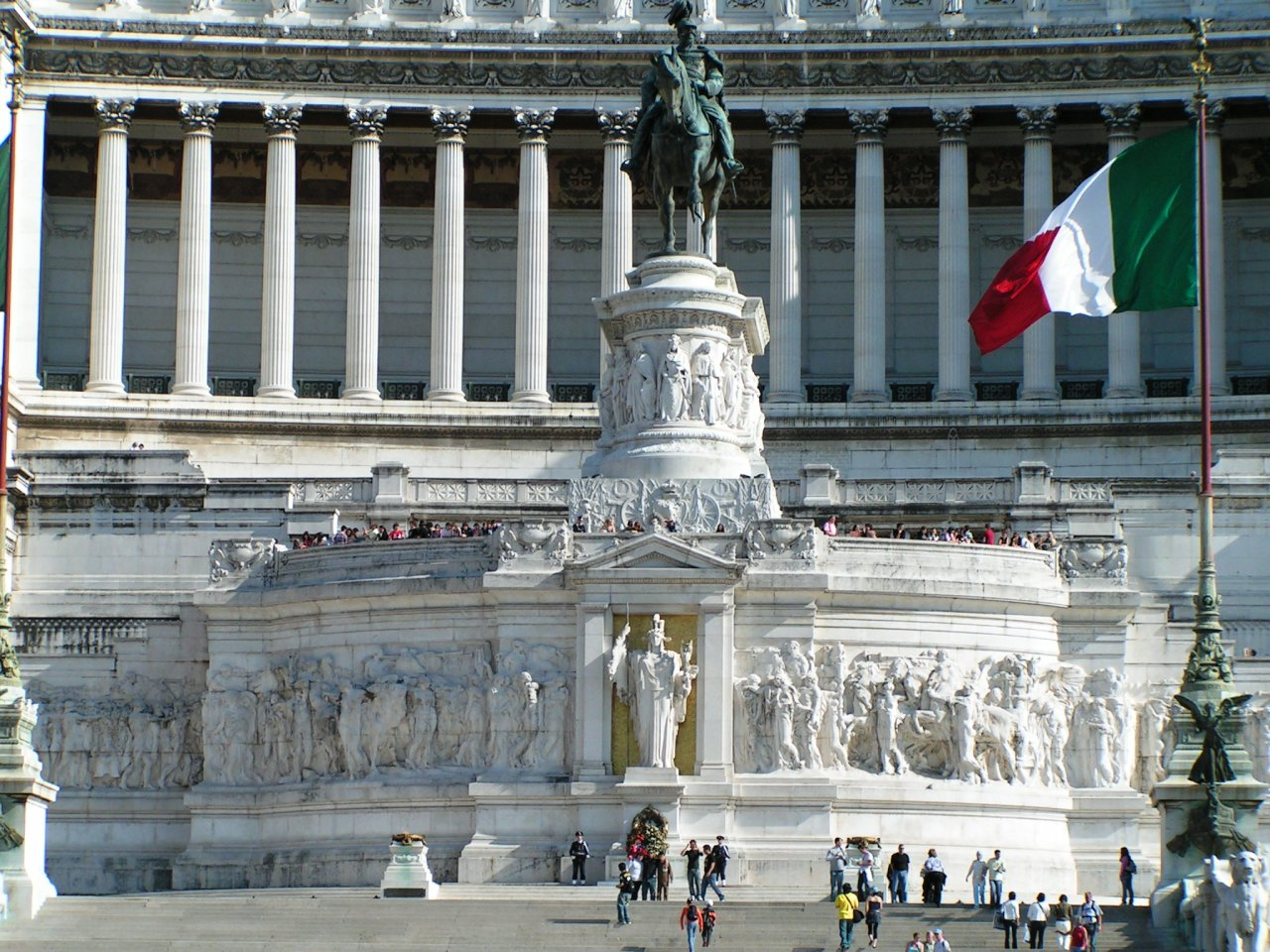 Victor Emmanuel II Monument, Altare della Patria, Rome attractions, Italy – 5