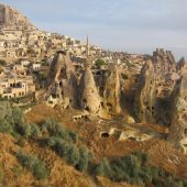 View of Cappadocia landscape, Best places to visit in Turkey