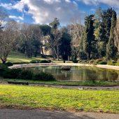 Villa Borghese Gardens, Rome, Italy
