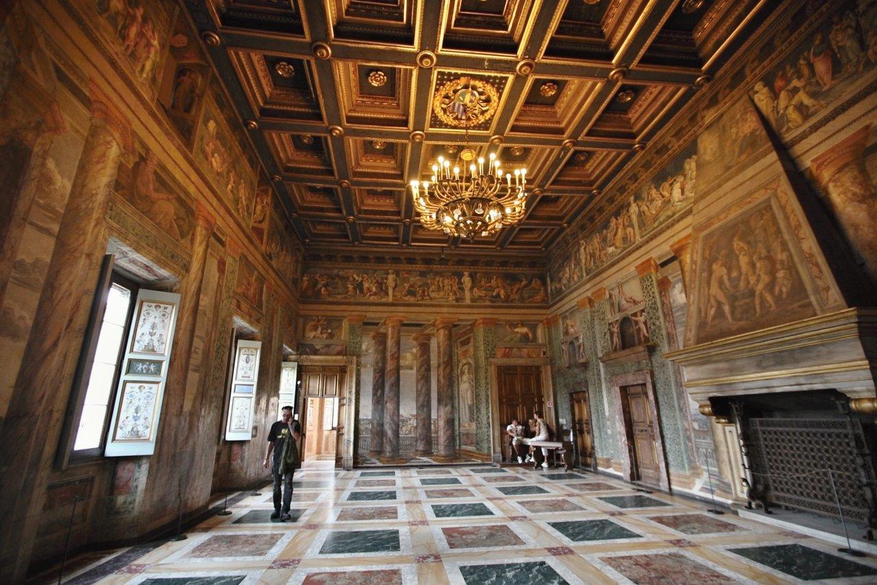 Villa Farnesina, Rome Attractions, Italy