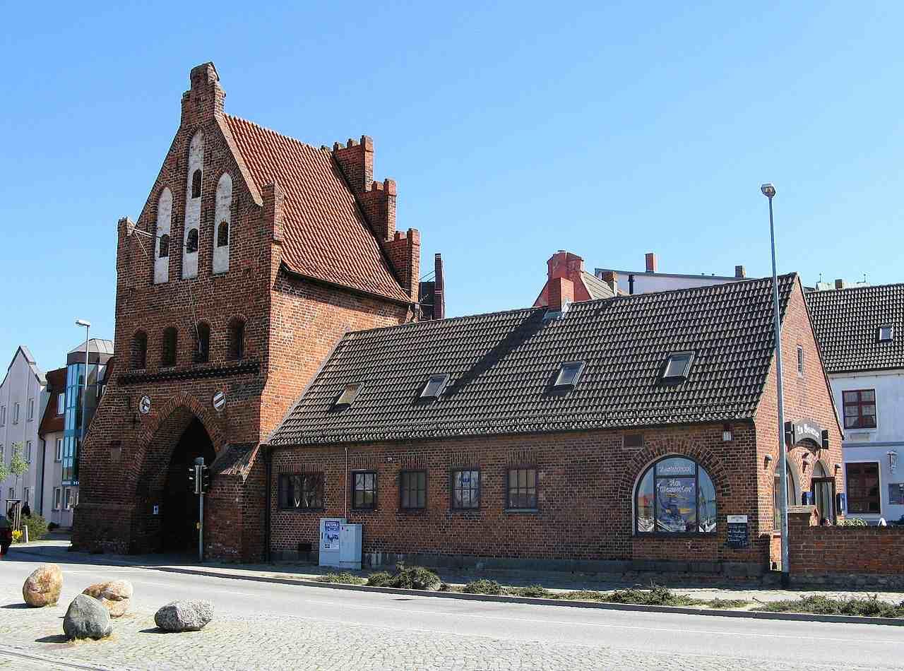 Wassertor, Wismar, Germany