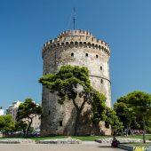 White Tower of Thessaloniki, Greece Travel