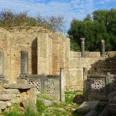 Workshop of Phidias at Olympia, Greece Travel
