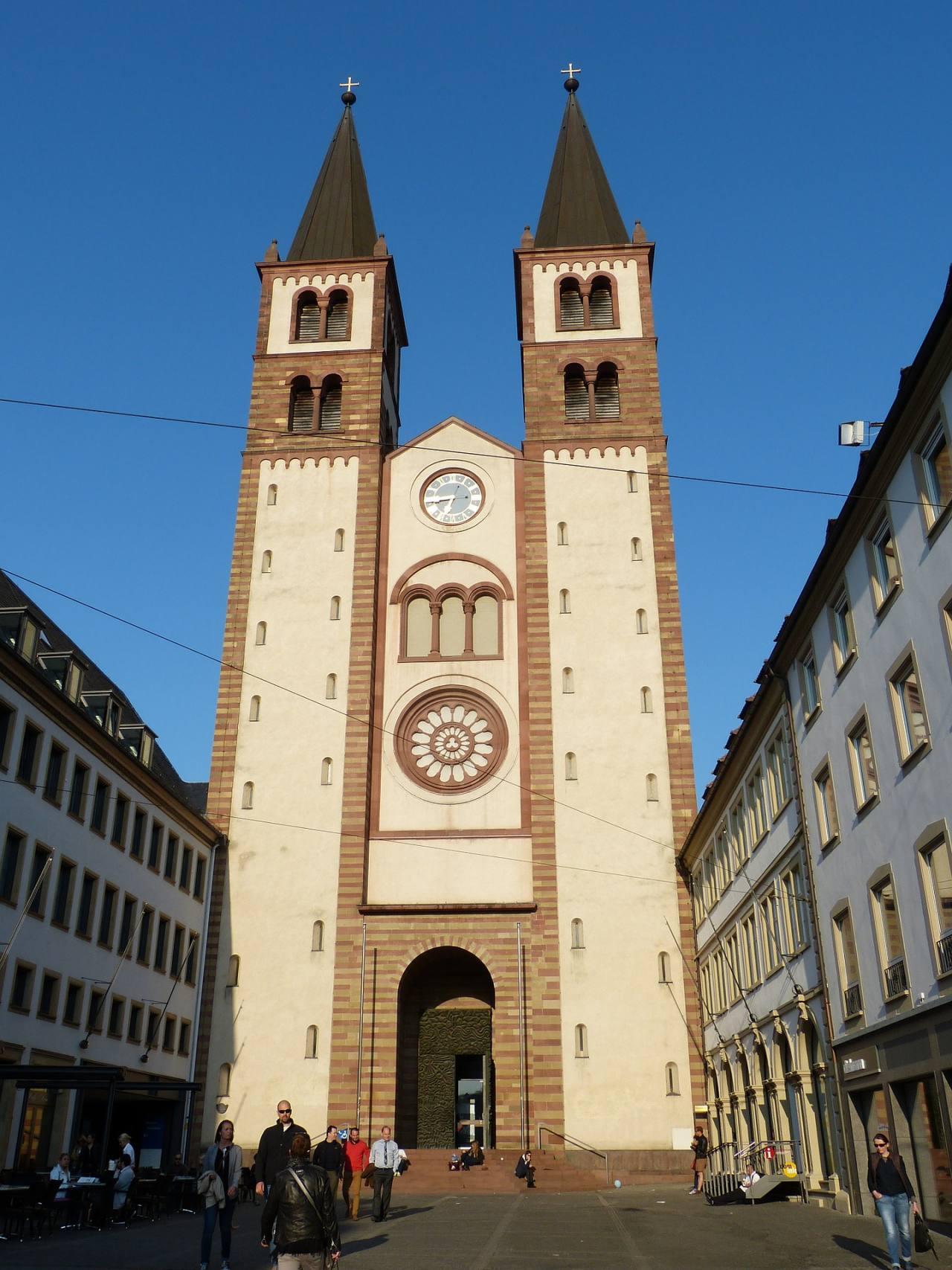 Würzburg Cathedral, Würzburg, Germany