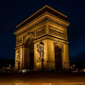 Arc de Triomphe, Places to visit in Paris, France