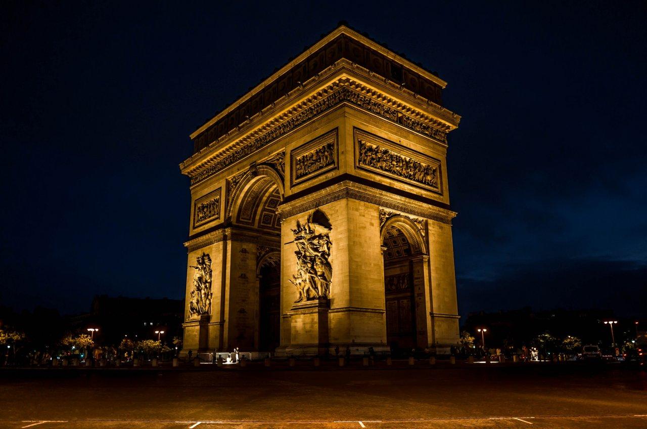 Arc de Triomphe, Places to visit in Paris, France
