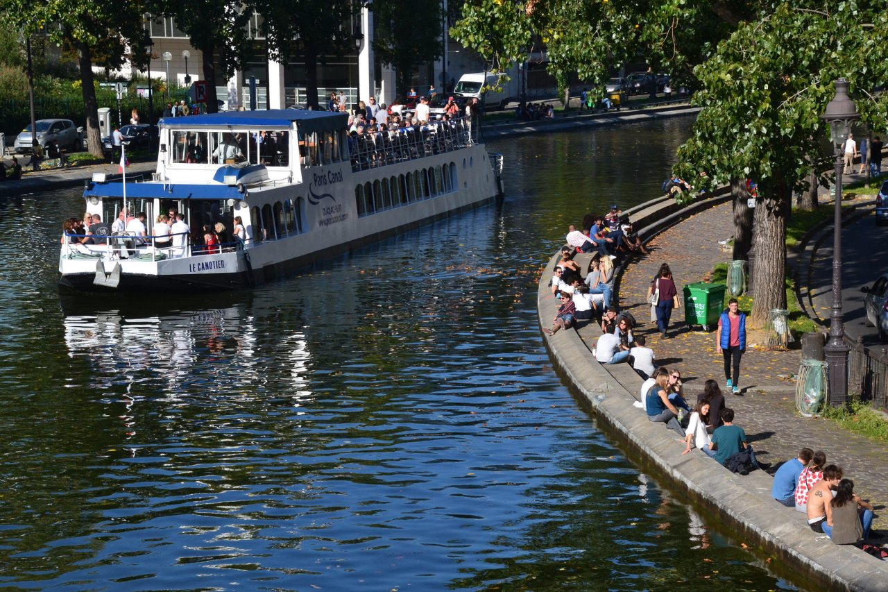 Canal St. Martin, Places to visit in Paris, France