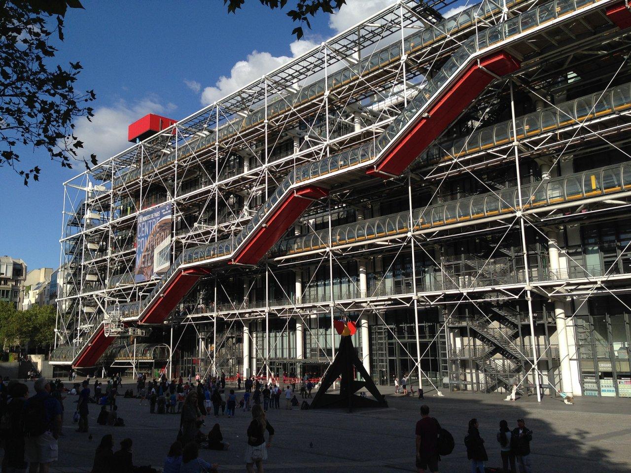 Centre Pompidou, Places to visit in Paris, France