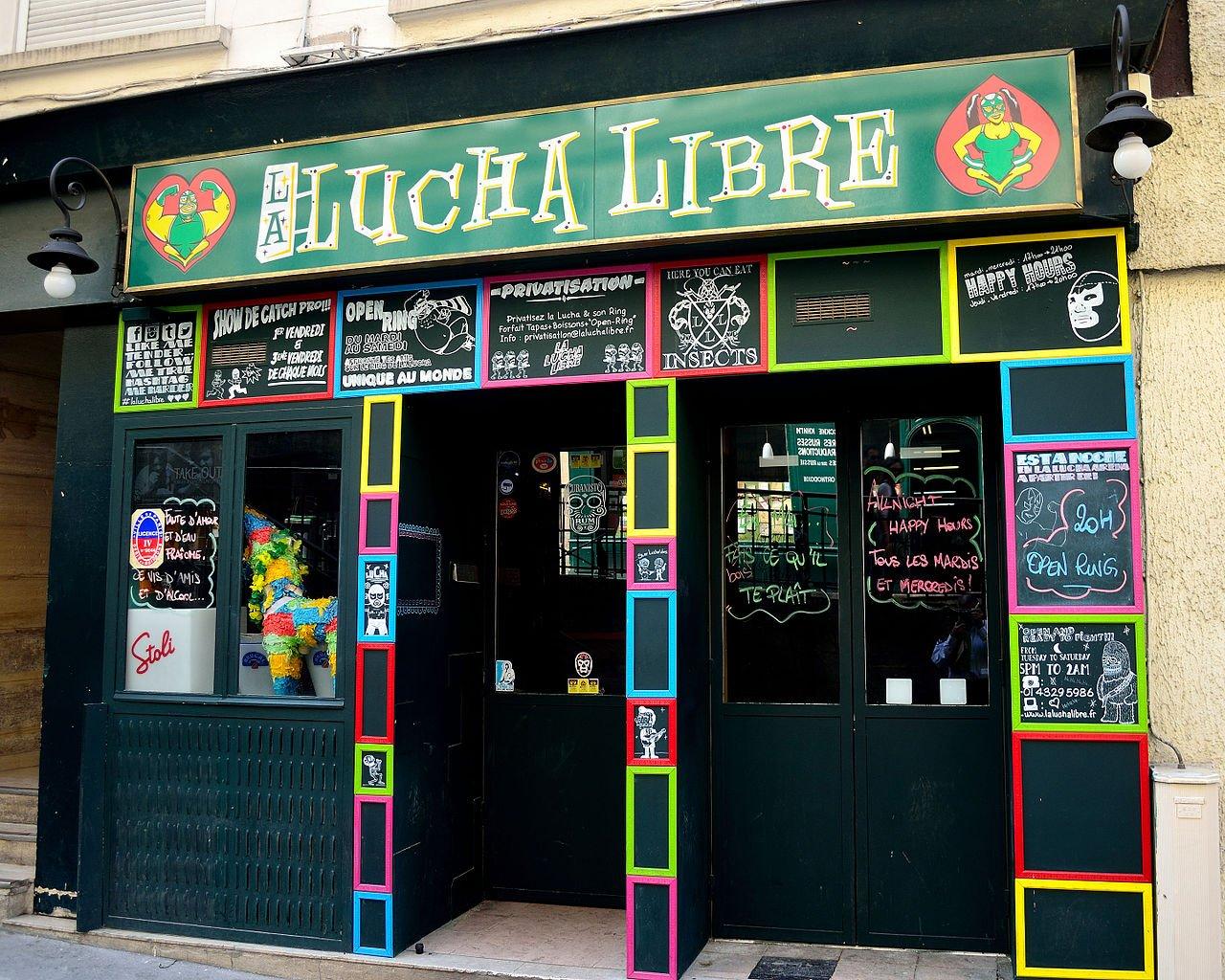 Lucha Libre, Places to visit in Paris, France