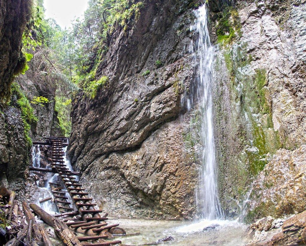 Malý Kyseľ gorge, Slovak Paradise National Park, Slovakia