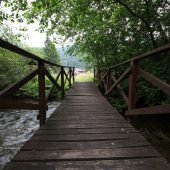 Mokrade Hnilca educational walking path in Stratena, Slovak Paradise National Park, Slovakia 2