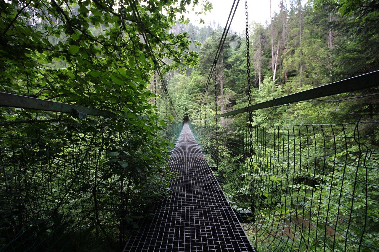 Prielom Hornádu canyon, Slovak Paradise National Park, Slovakia