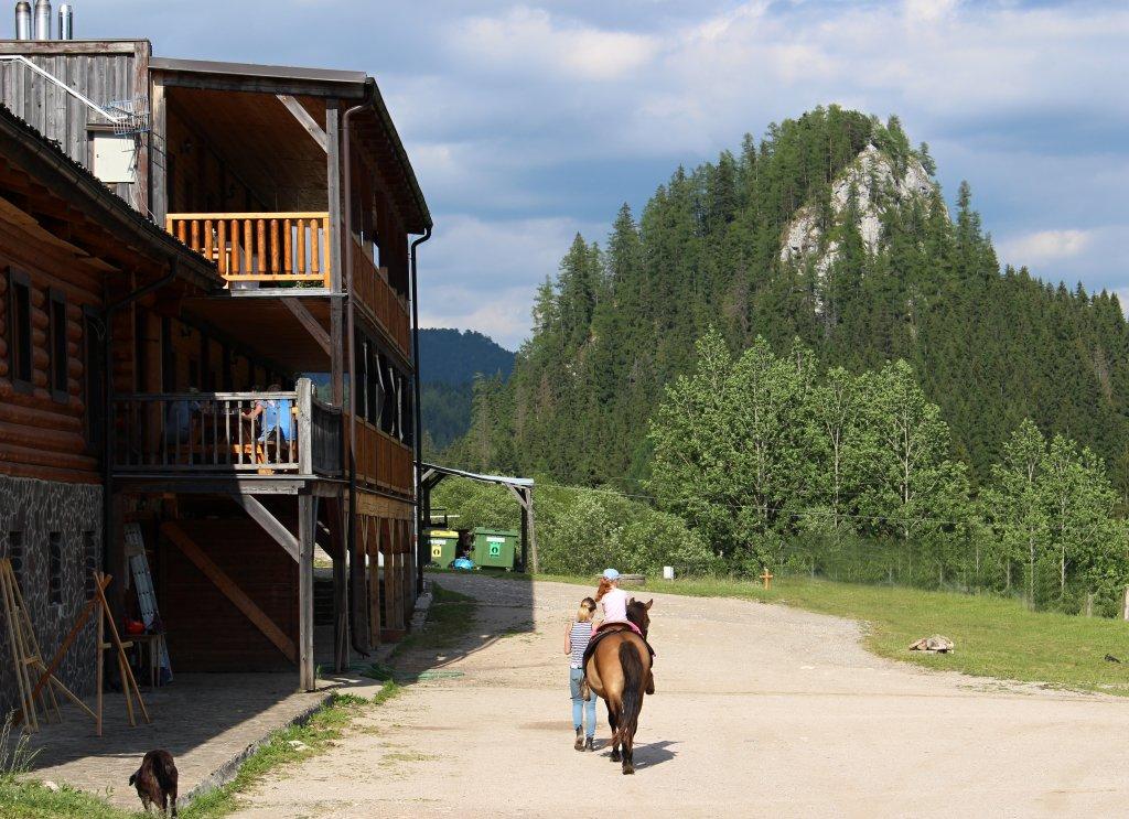Ranč pod Ostrou skalou, Slovak Paradise National Park, Slovakia