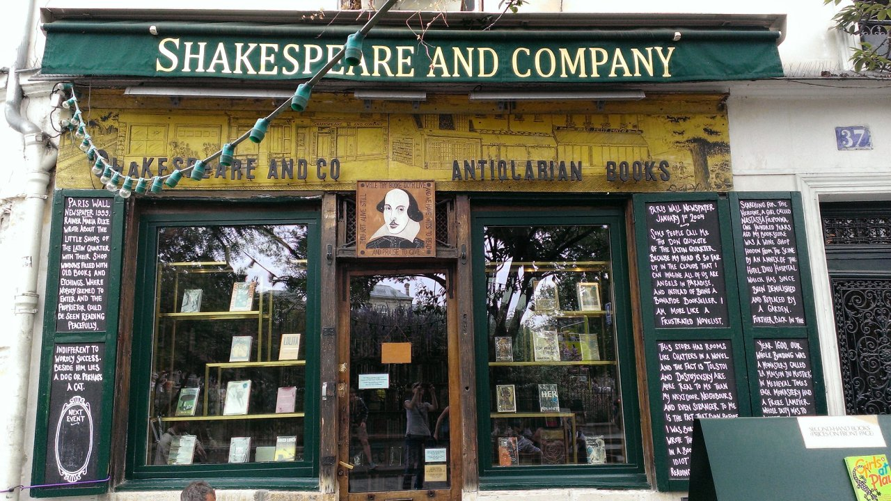 Shakespeare & Company bookshop, Places to visit in Paris, France