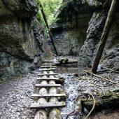 Veľký sokol gorge, Slovak Paradise National Park, Slovakia