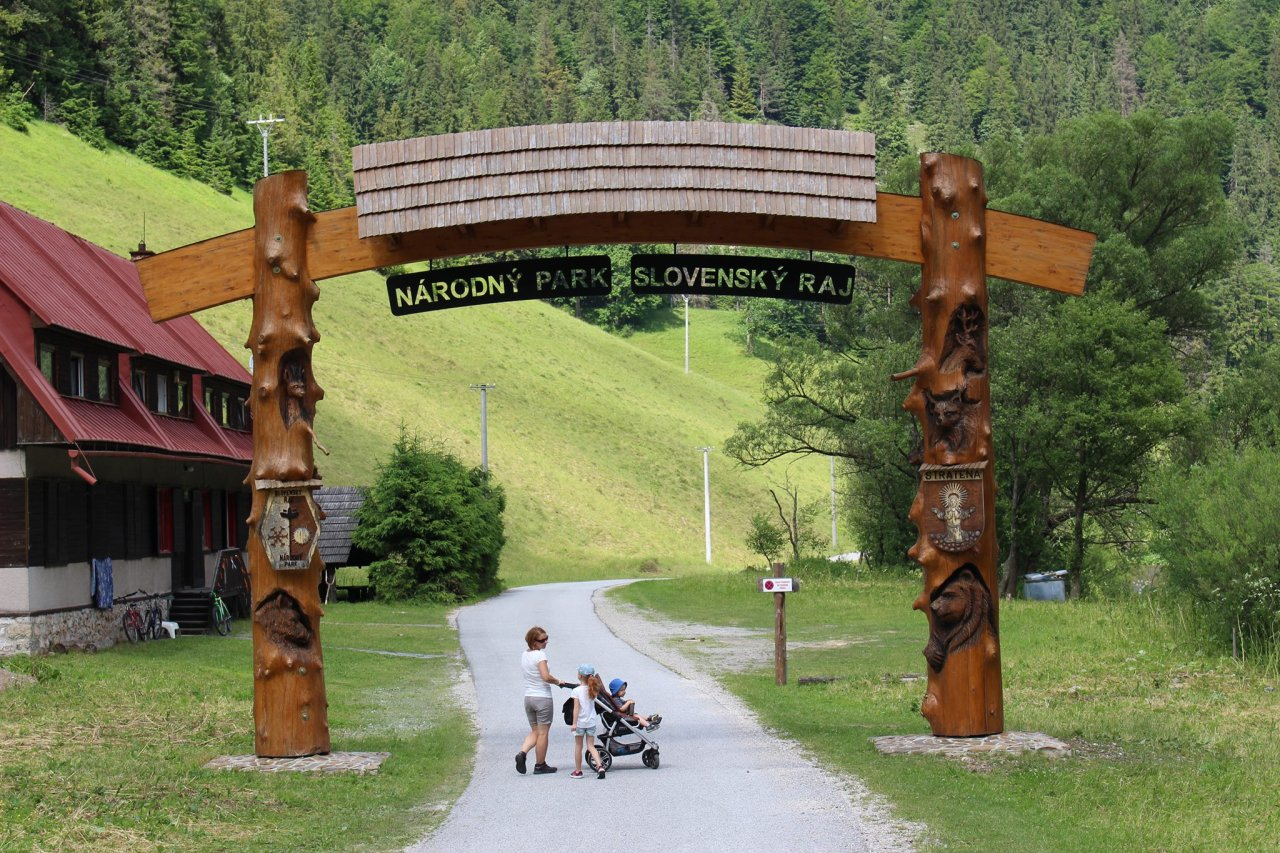 Welcome to the Slovak Paradise National Park, Slovakia