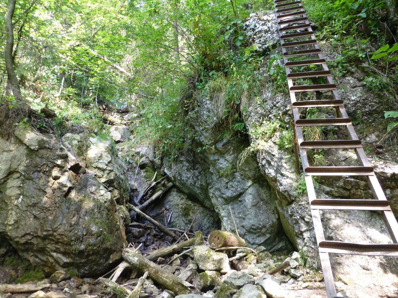 Zejmarská gorge, Slovak Paradise National Park, Slovakia