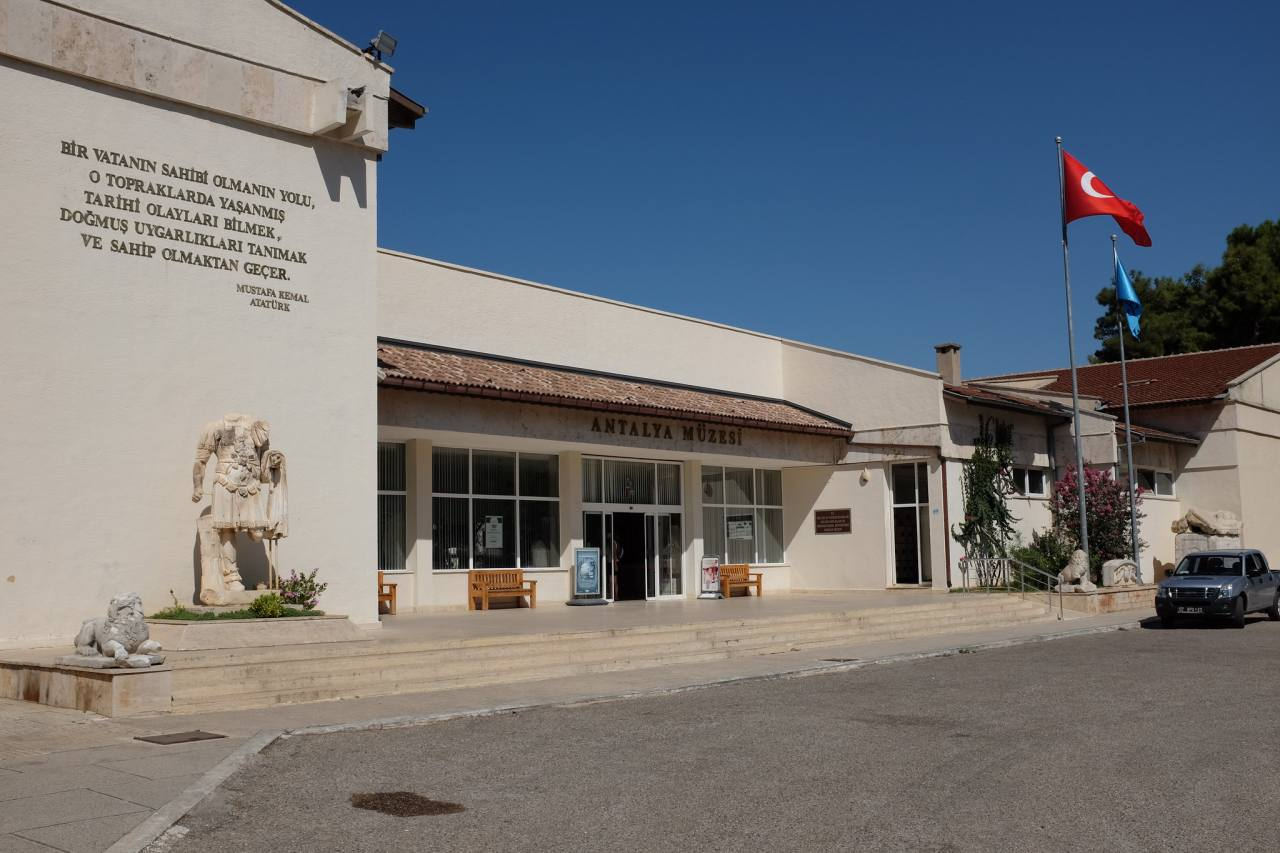 Antalya Museum, Top tourist attractions in Antalya