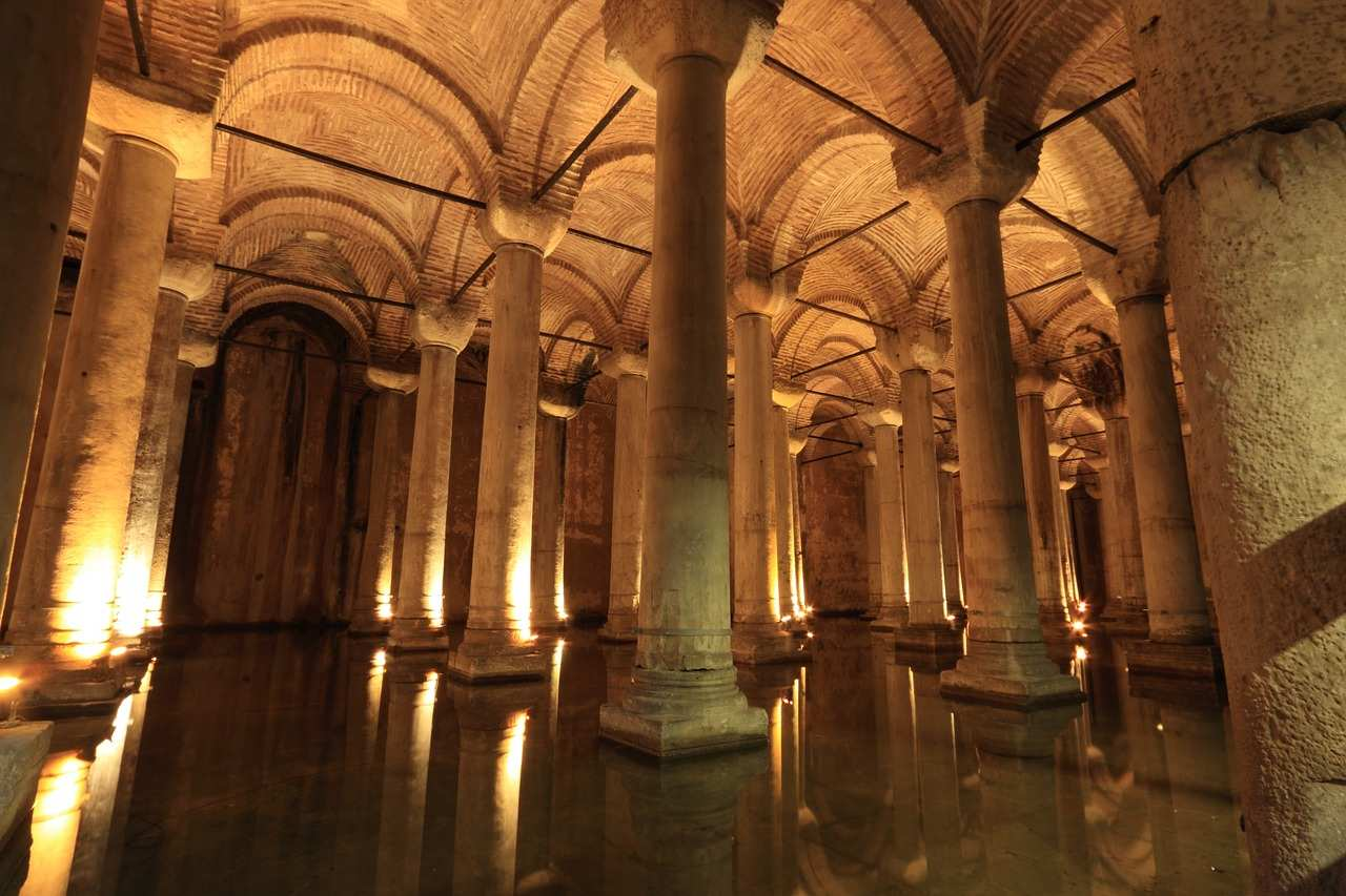 Basilica Cistern, Top tourist attractions in Istanbul