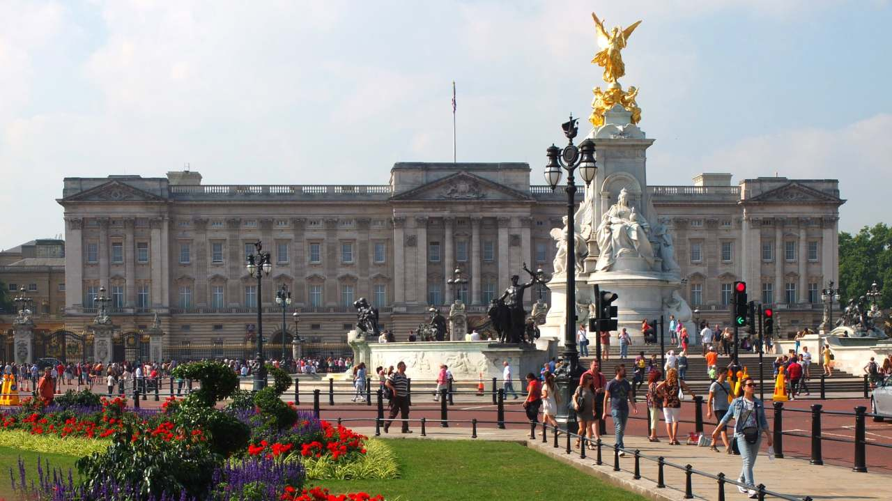 Buckingham Palace tour, Top tourist attractions in London