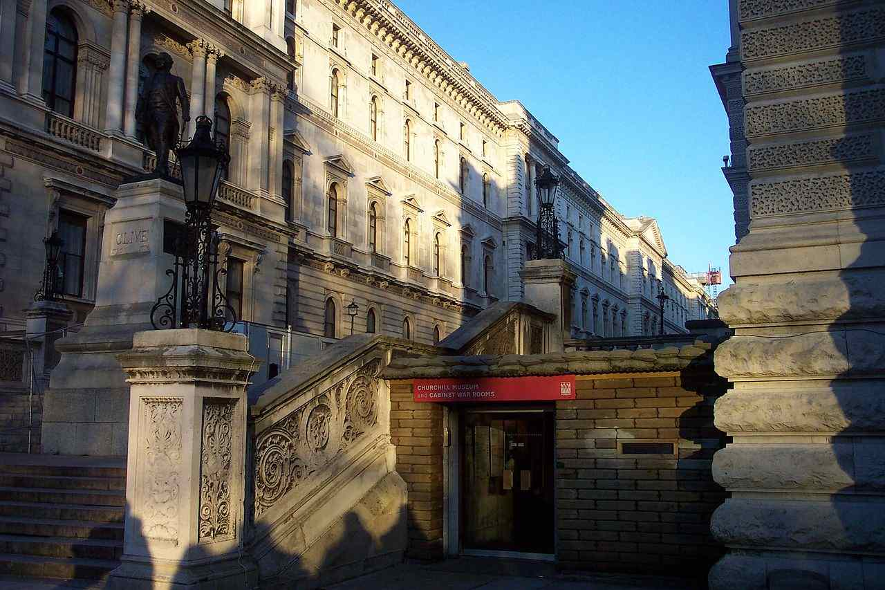 Churchill War Rooms, Top tourist attractions in London