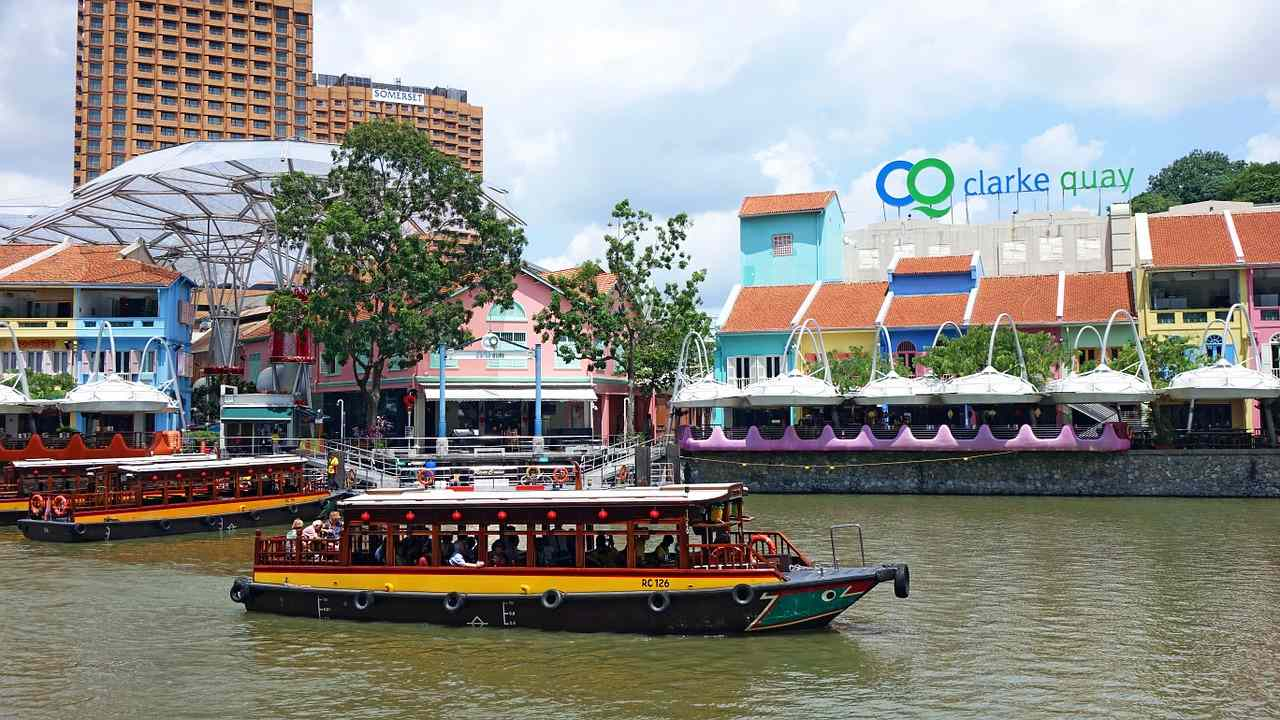 Clarke Quay, Top tourist attractions in Singapore
