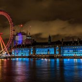 Coca-Cola London Eye, Top tourist attractions in London