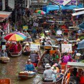 Damnoen Saduak Floating Market, Things to do in Bangkok - Tourist Attractions, Thailand