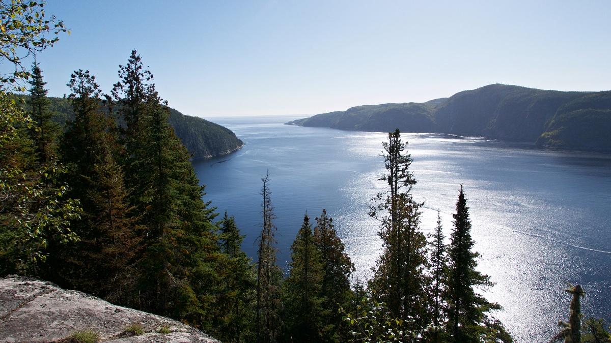 Fjord Saguenay, Canada